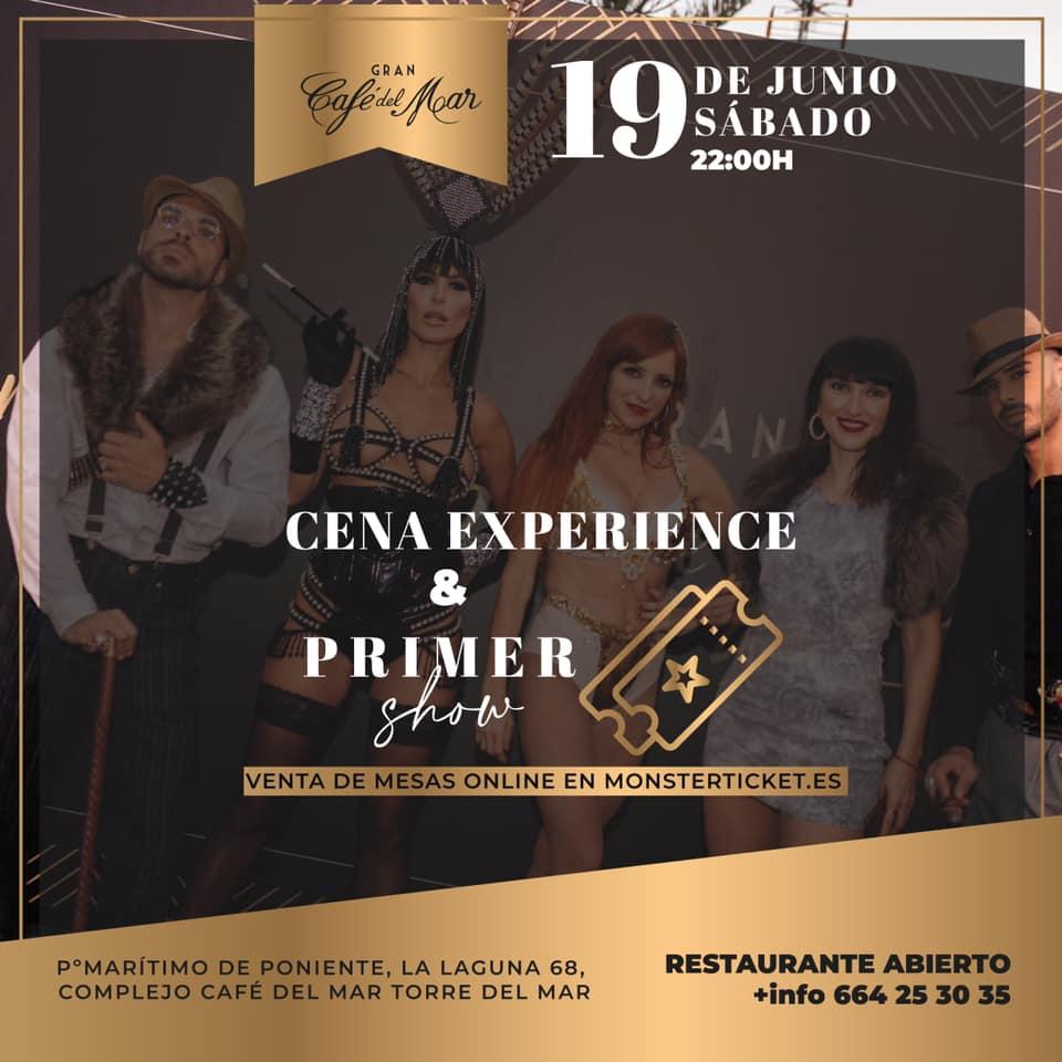 Cafe del Mar Cena y Show