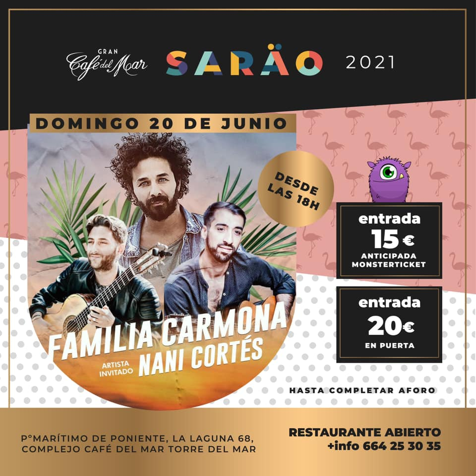 Cafe del Mar- Familia Carmona