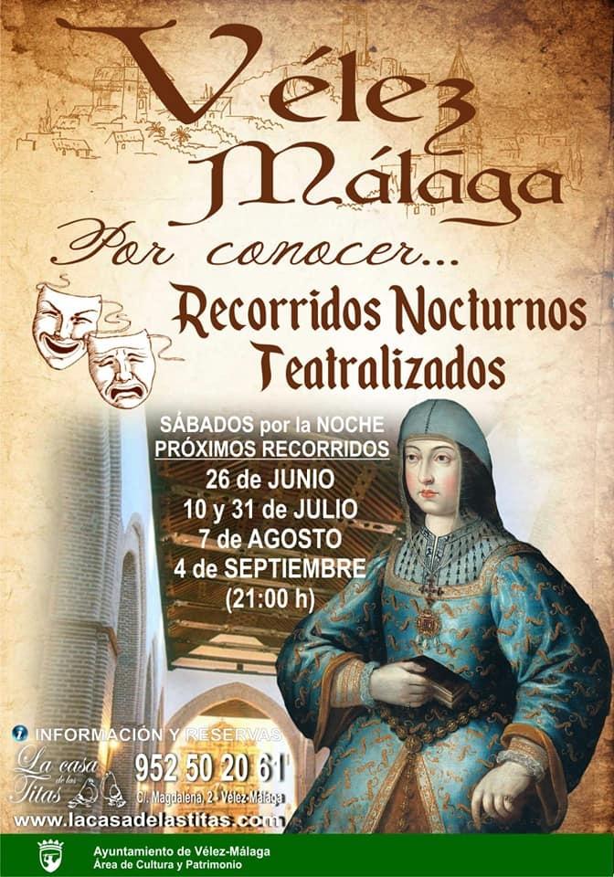 Velez Malaga Theatrical Tour